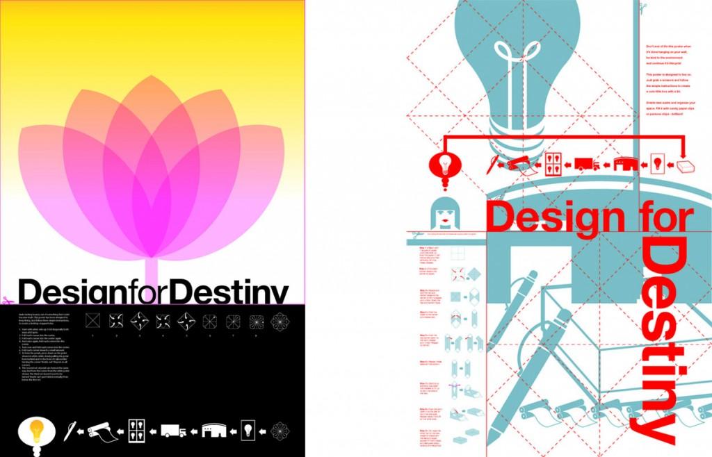 Design for Destiny posters
