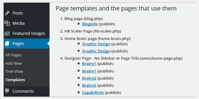 templatelist